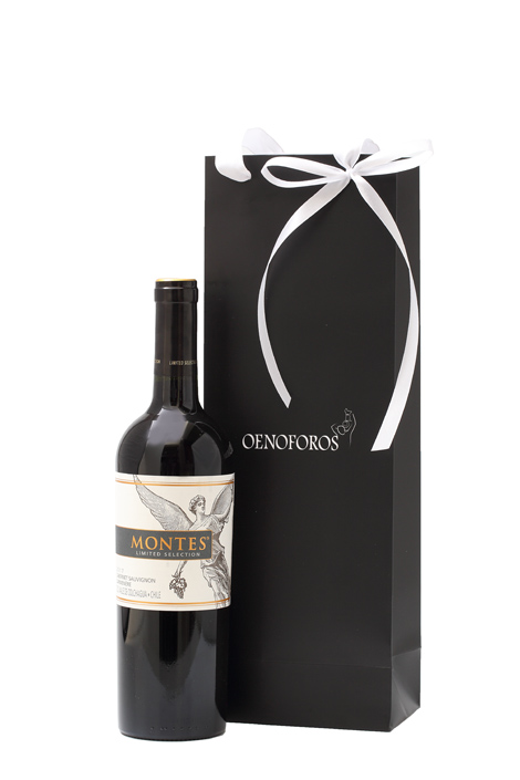 GIFT SINGLE BAG - MONTES CABERNET CARMENERE