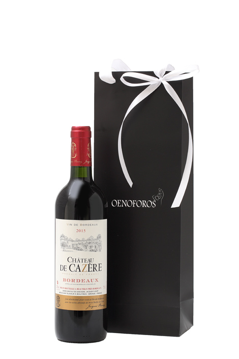 GIFT SINGLE BAG - CHATEAU DE CAZERE