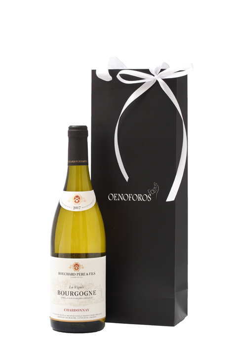 GIFT SINGLE BAG - BOUCHARD PERE & FILS BOURGOGNE CHARDONNAY