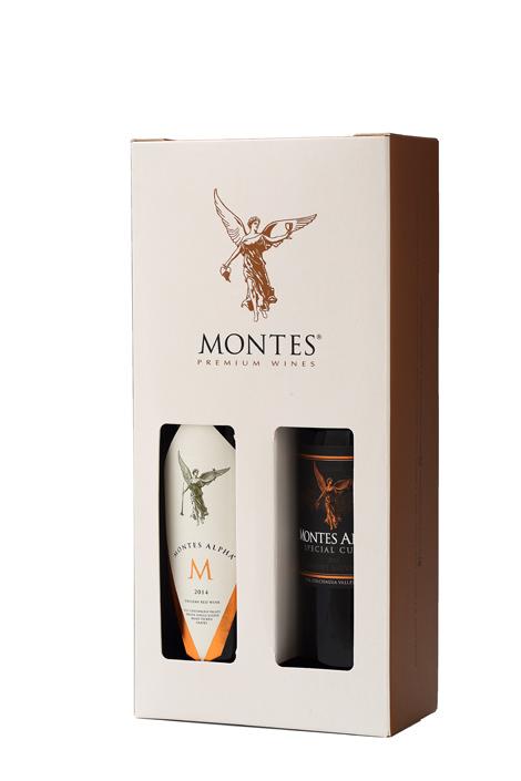 GIFT DOUBLE BOX - MONTES ICON WINES