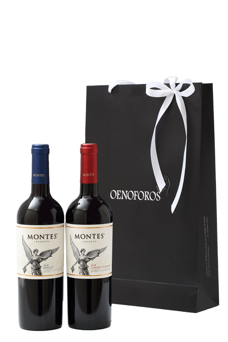 GIFT DOUBLE BAG - MONTES RESERVA