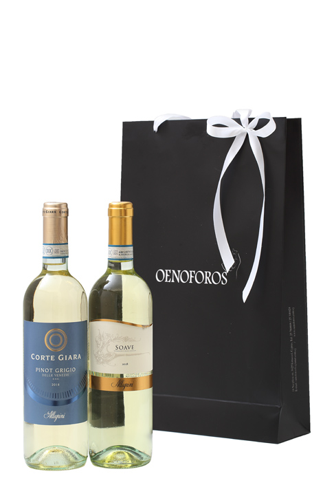 GIFT DOUBLE BAG - ITALIAN WHITE