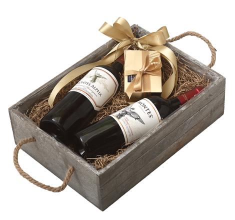 GIFT DOUBLE GREY BOX - CABERNET SAUVIGNON
