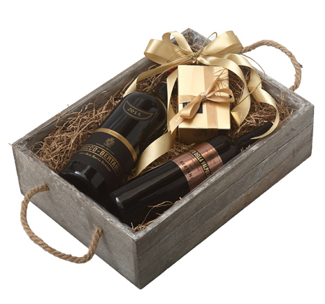 GIFT DOUBLE GREY BOX - BERTANI VINTAGE