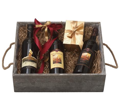 GIFT TRIPLE GREY BOX - CASTELLO BANFI