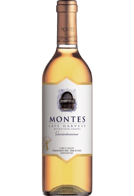 MONTES GEWUSTRAMINER LATE HARVEST 2015 37.5CL