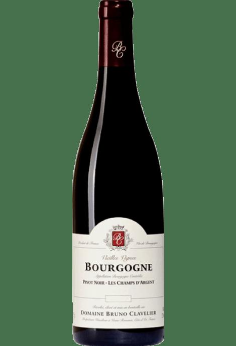 DOMAINE BRUNO CLAVELIER BOURGOGNE ROUGE LES CHAMPS D'ARGENT 2017
